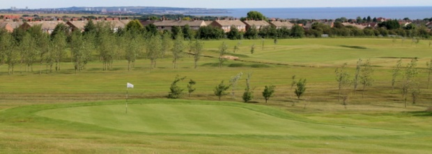 A beautiful green golf course, warm sun washing over you, Birds singing happily.